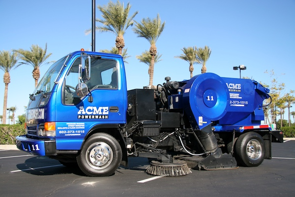 street sweeping services in phoenix
