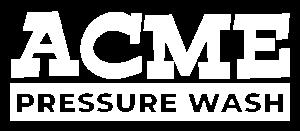Acme Pressure Wash Logo